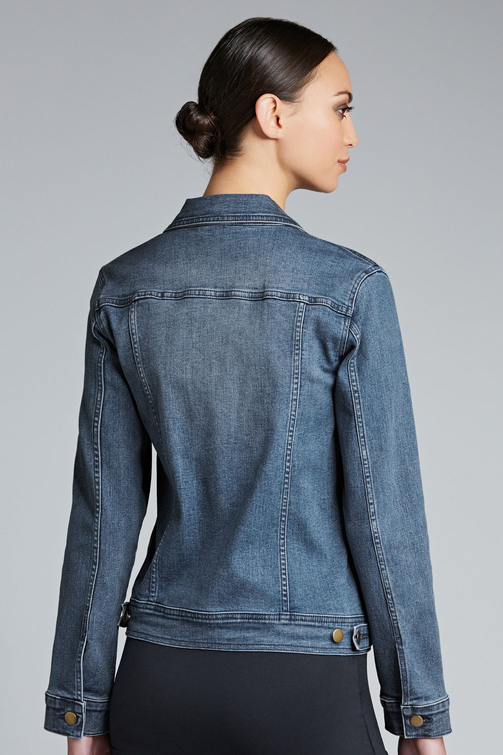 Capture Coloured Denim Jacket Online | Shop EziBuy