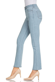Capture High Waist Straight Jean - 178939