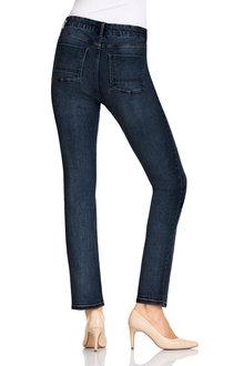Capture High Waist Straight Jean - 178939