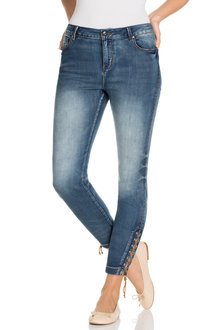 Capture Lace Up Ankle Jean