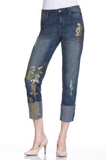 Capture Sequin Embellished Jean