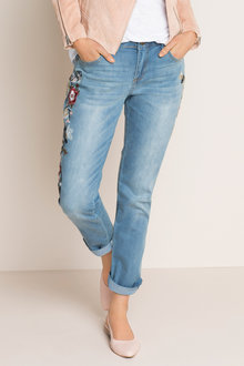 Emerge Embroidered Jean