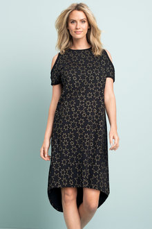 Capture Cold Shoulder Tee Dress