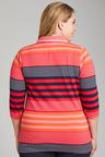 Plus Size - Sara 3/4 Sleeve Polo