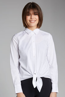 Capture Tie Front Shirt - 178972