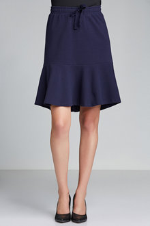 Emerge Textured Ruffle Skirt