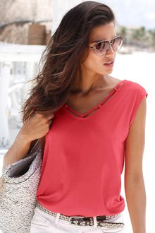 Urban Neck Detail Top