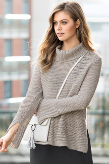 Emerge Cowl Neck Knit