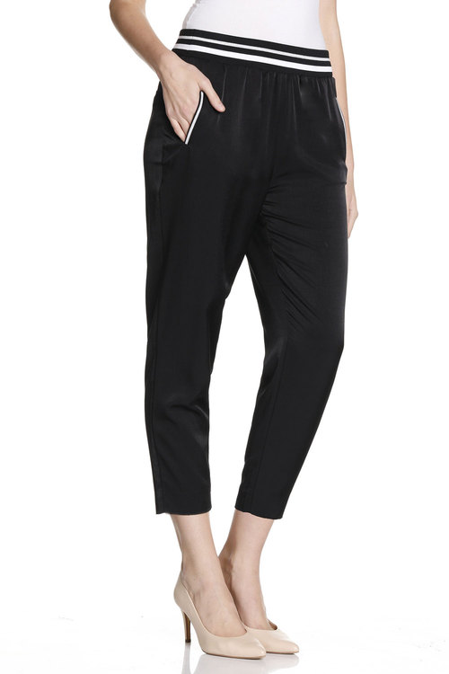Grace Hill Slouch Pant With Sport Detail