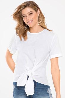 Capture Tie Front Shirt