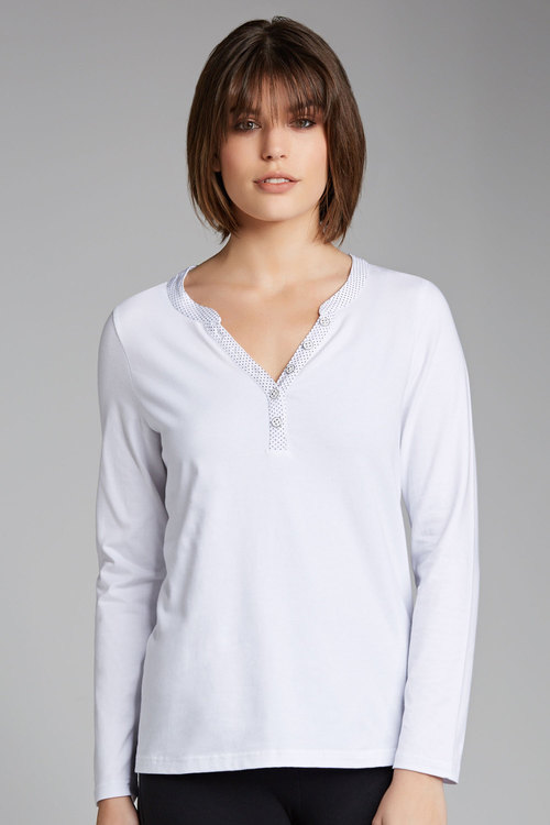 Capture Long Sleeved Henley