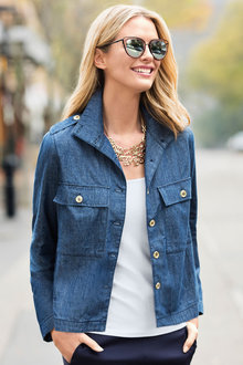 Capture Chambray Jacket