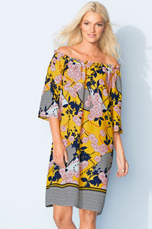 Emerge Off the Shoulder Dress