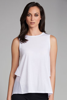 Emerge Ruffle Back Tank - 179085