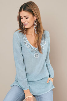 Heine Embroidered Tunic