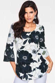 Heine Maxi Floral Printed Top