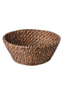 Sage Rattan Bowl