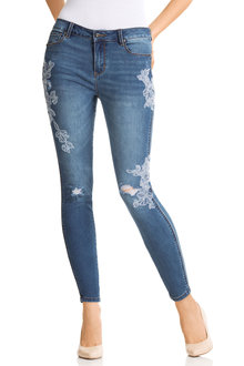 Capture Embroidered Jean
