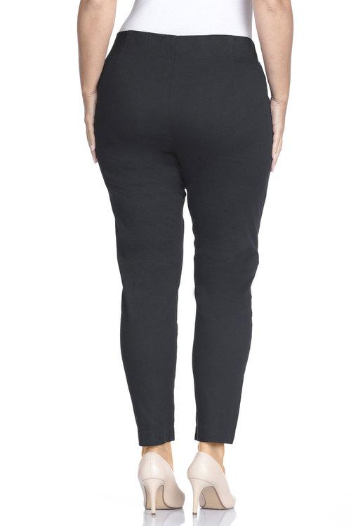 Plus Size - Sara So Slimming 7/8 Cotton Ankle Pant