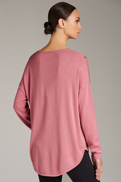 Emerge Eyelet Detail Jumper