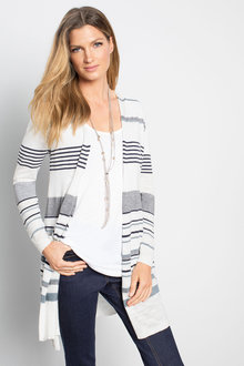 Capture Striped Cardigan