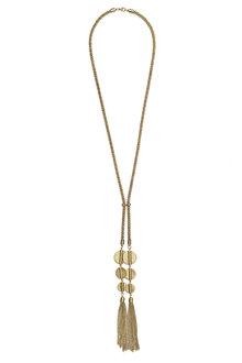 Together Drop Tassel Necklace - 179252