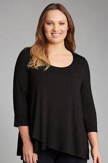 Plus Size - Sara Crossover Top