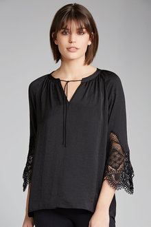 Capture Lace Sleeve Top - 179275