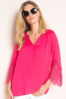 Capture Lace Sleeve Top