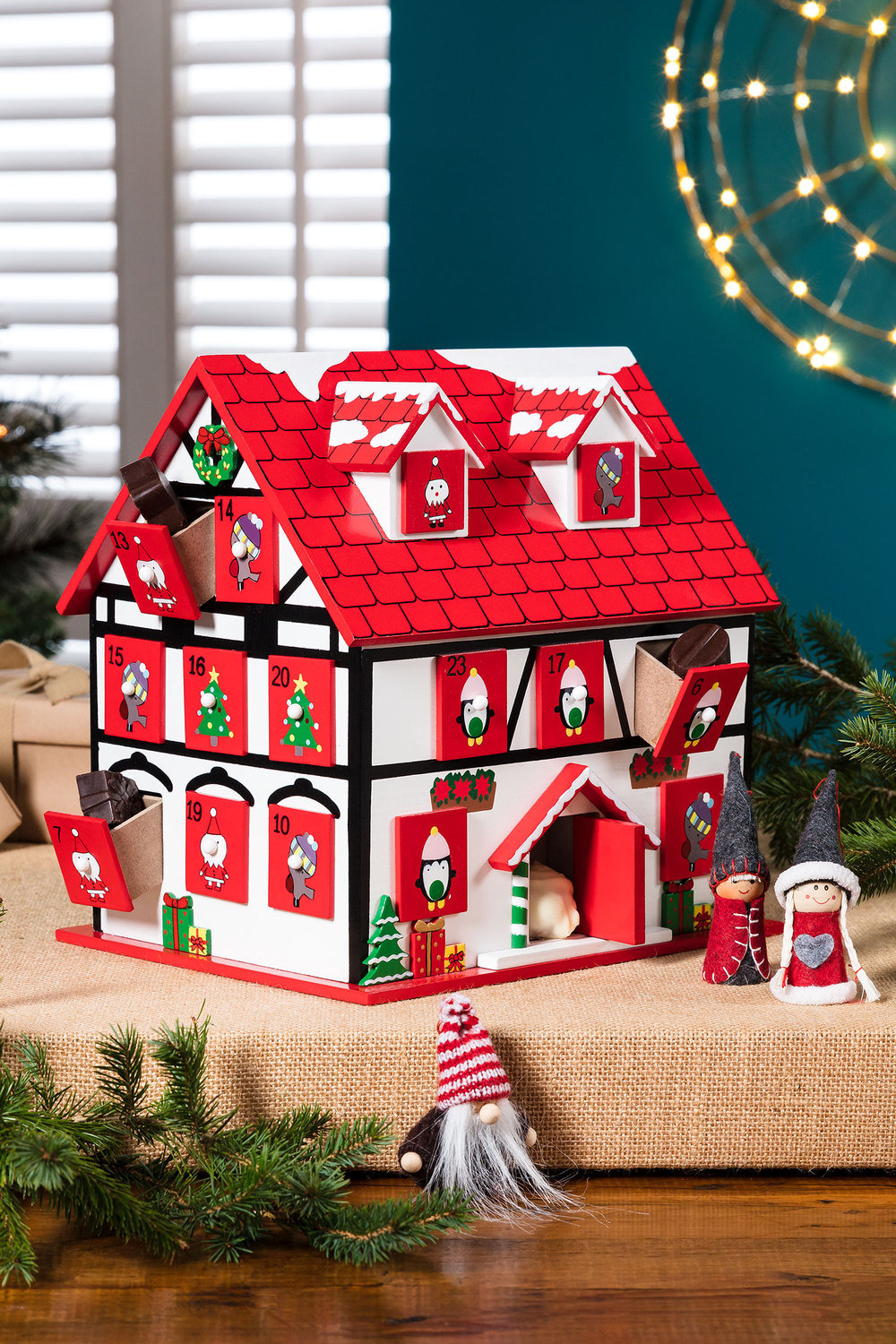 cottage advent calendar online shop ezibuy. Black Bedroom Furniture Sets. Home Design Ideas