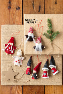 Nordic Noddy and Pepper Ornaments