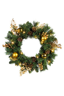 Light Up Glamour Wreath