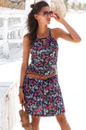 Urban Floral Beach Dress
