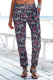 Urban Floral Relaxed Pants