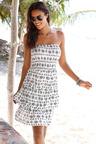 Urban Tiered Print Dress