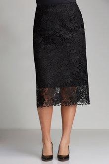 Plus Size - Sara Lace Skirt