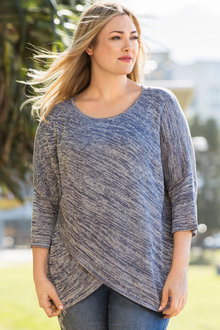 Plus Size - Sara Metallic Sweater