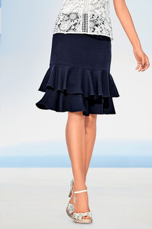 Heine Ruffled Skirt
