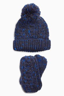 Next Bobble Beanie Two Piece Set (Younger Boys)