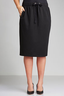 Plus Size - Sara Eyelet Knit Skirt