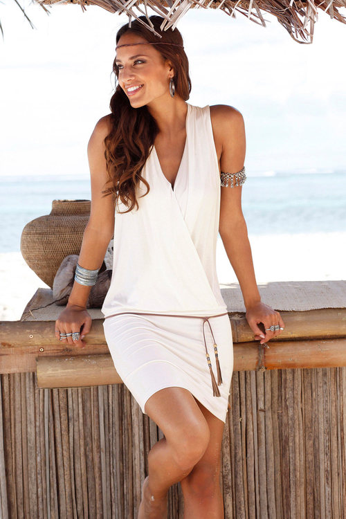 Urban Cross Front Dress