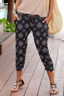 Urban Printed Jogger Pants