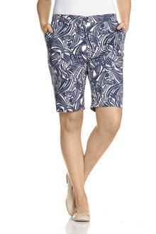 Plus Size - Sara So Slimming Short