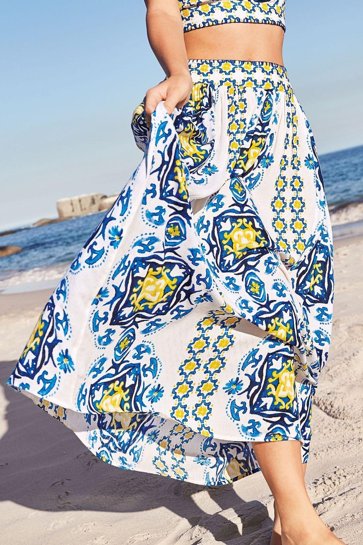 edbff326762 Next Tile Print Maxi Skirt Online