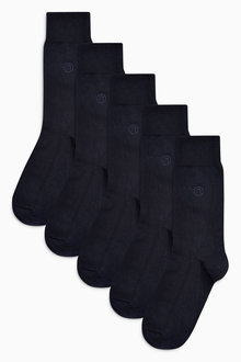 Next N Embroidered Socks Five Pack - 180257