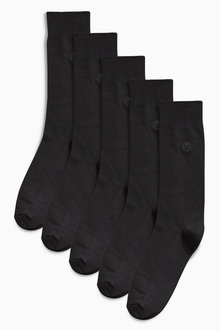 Next Texture Socks Five Pack
