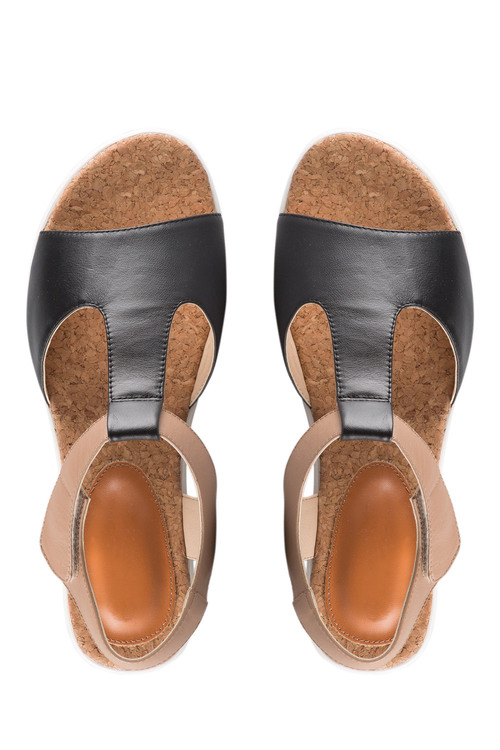 Capture Wide Fit Cynthia Wedge Sandal