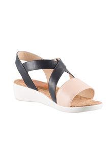 Wide Fit Janine Sandal Heel - 180554
