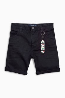 Next Five Pocket Shorts With Keyring (3-16yrs)