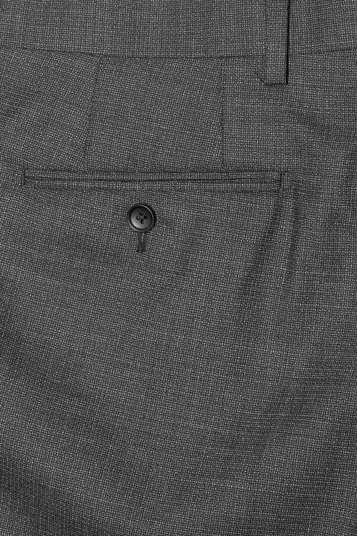 Next Signature Textured Suit: Trousers Slim Fit